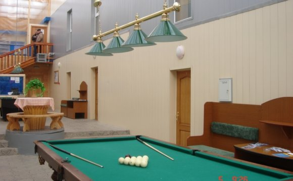 Гостиница Евразия, Банное