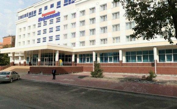 Отель Нефтяник, Тюмень