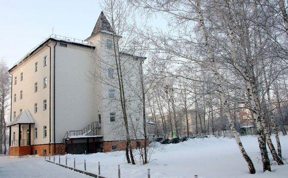 Парк-отель «Прага», зимой